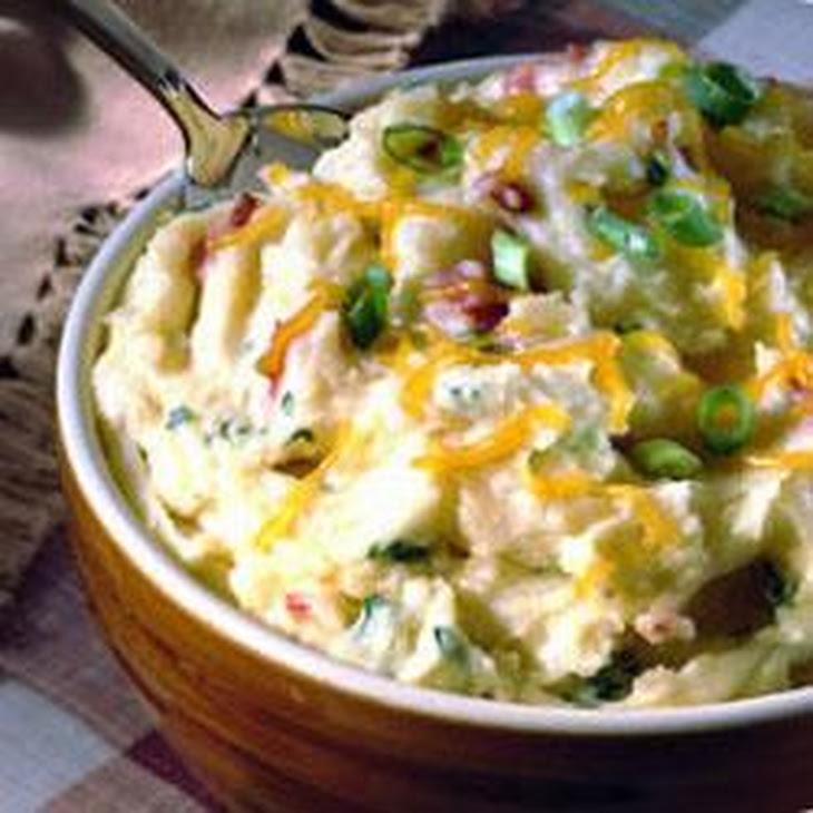 Carnation® Creamy Cheesy Mashed Potatoes Recipe   Yummly