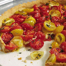 Tomato Tart With Cheddar Crust