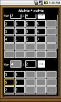 Screenshot of Algebra Solver