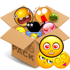 Emoticons pack, Yellow