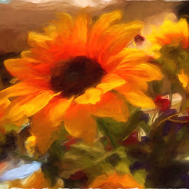 Flower Power by Allen Crenshaw - Digital Art Things