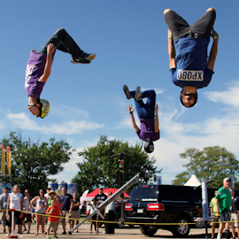 Extreme Pogo by Donna Neal - Sports & Fitness Other Sports ( maryland seafood festival, xpogo, poto tricks )