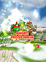 Screenshot of Angry Frogs Ninja