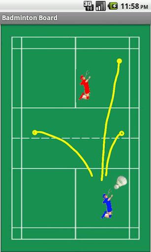 免費運動App Badminton Tactics Board 阿達玩APP