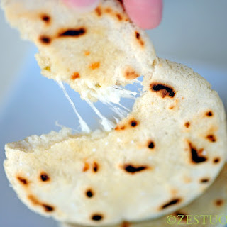 Pupusas (El Salvadorian Grilled Cheese)
