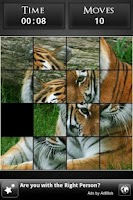 Screenshot of Simple Slide Puzzle