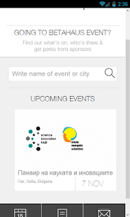 betahaus Events - screenshot