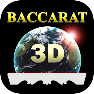 Baccarat 3D - Free Casino App, play online multi-player in high stakes tables