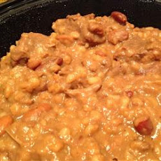 Mom's Authentic Kosher Cholent