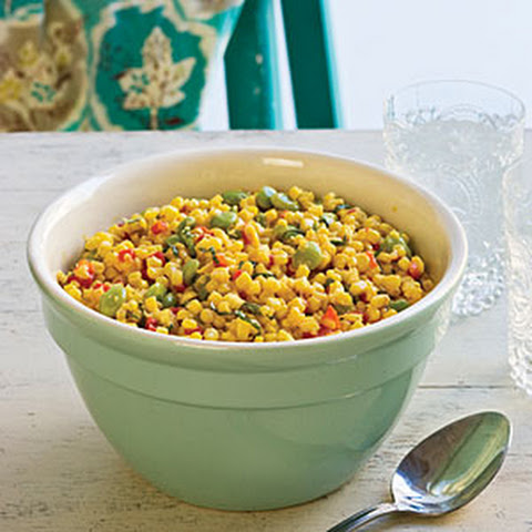 Corn-and-Lima Bean Salad