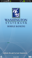 Screenshot of Washington State Bank Mobile