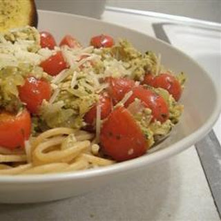 Smoked Salmon Pesto Pasta