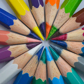 Colorful Circle by Julianes Caesar Siregar - Artistic Objects Education Objects