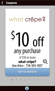 what crêpe - screenshot