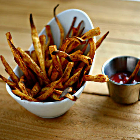 Old Bay {Parsnip} Fries