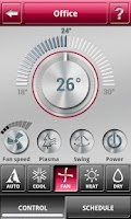 Screenshot of AC Mobile Control