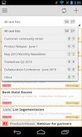 Screenshot of Teambox