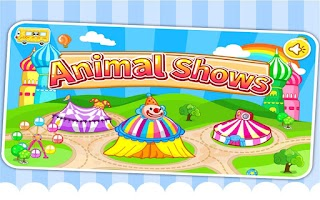 Screenshot of Animal Shows - Panda's Circus