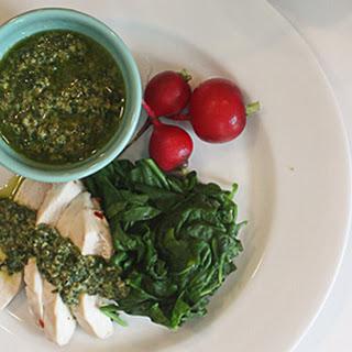 Lemon Basil Salsa Verde Recipes