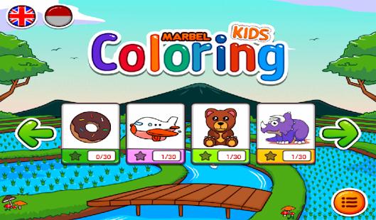 App Marbel Kids Coloring Books APK For Windows Phone