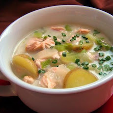 Wendy's Smoked Salmon Chowda