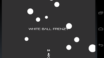 Screenshot of White Ball Frenzy