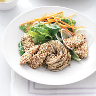 Sesame Chicken With Soba Noodles Recipes