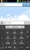 Screenshot of Swedish for GO Keyboard- Emoji