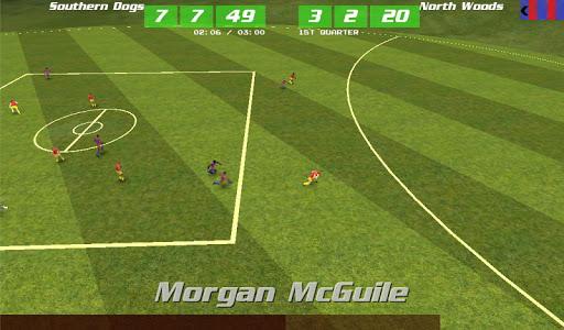 MegaFooty Quick Kick - screenshot