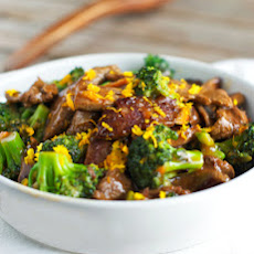 {Light} Orange Beef and Broccoli