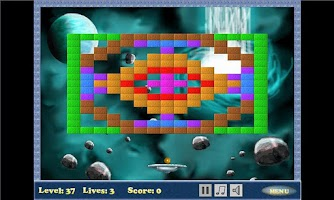 Screenshot of Bricks Destroyer