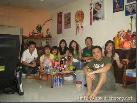 Chinese New year gathering 1