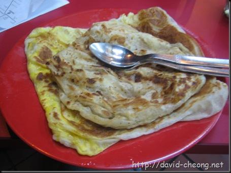 Singapore Roti Canai