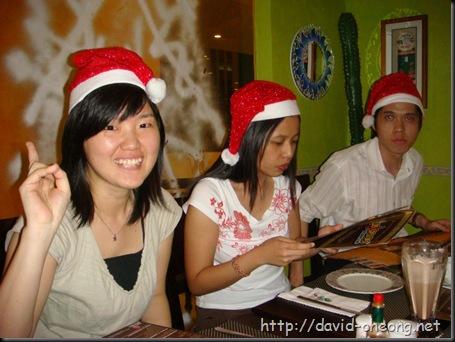 Christmas dinner at 2007