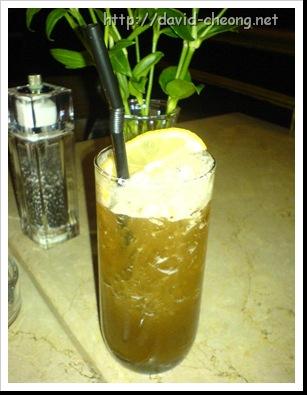 Cafe cafe, Ice Lemon Tea