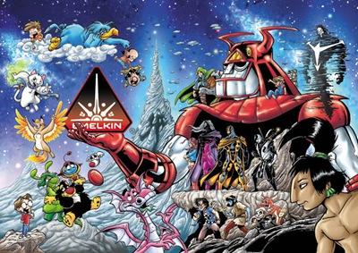 Ilustración ©¡Ka-Boom! Estudio S.A. de C.V.