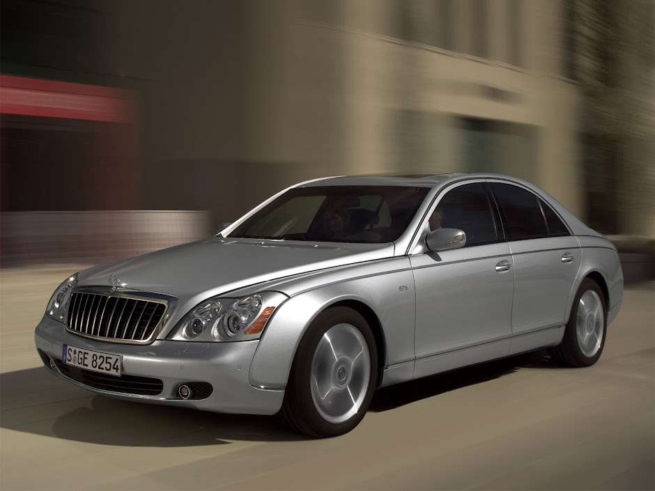 Maybach 57 S car - Color: Silver  // Description: fast