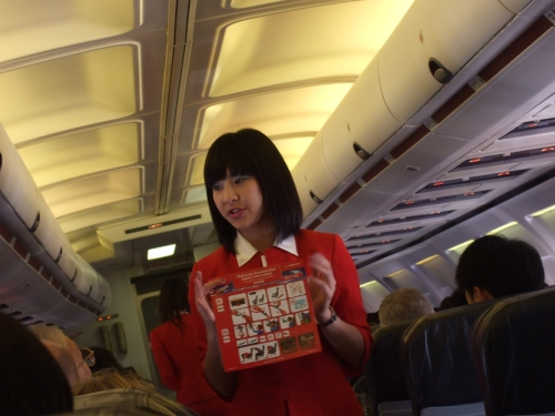 thai airasia stewardess