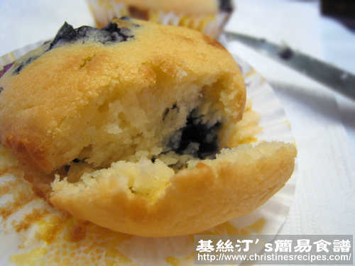 藍莓鬆餅 Incredible Blueberry Muffins02