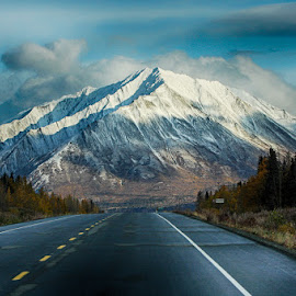 The Road to Alaska by Brent Morris - Landscapes Travel