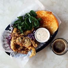 Softshell Crab Sandwiches with Rémoulade Slaw