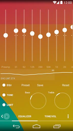Skin for Poweramp Flat - screenshot