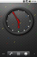 Screenshot of RIM 4x3 Analog Clock