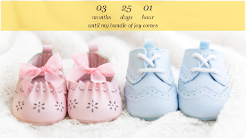 Screenshot of Baby Countdown Widget