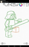 Screenshot of Learn to Draw Lego Star Wars
