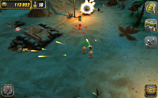 Screenshot of Tiny Troopers