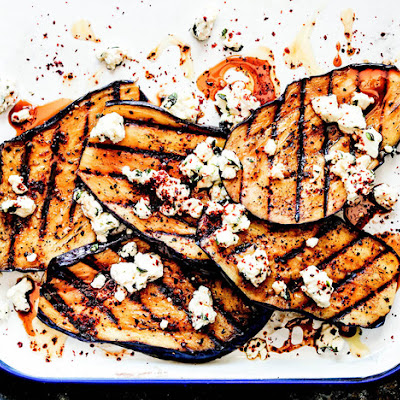 Grilled Eggplant With Feta and Maras Pepper From 'The Big-Flavor Grill'