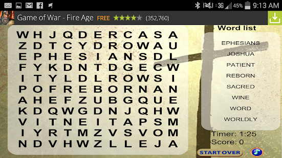 Bible Word Search FREE