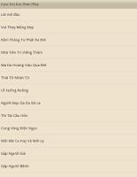 Screenshot of Cuoc Doi Duc Kinh Phat Giao