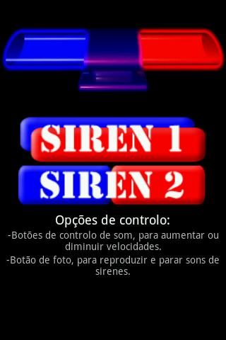 SirenDroid Lights Sounds